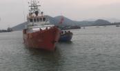 Cứu hộ thành công tàu cá và 10 ngư dân gặp nạn trên biển