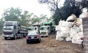 Thái Nguyên: Bắt giữ nhiều xe chở chất thải lạ tại khu vực mỏ than Phấn Mễ