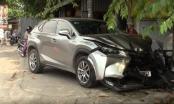 Bình Dương: Lexus điên tông hàng loạt xe máy, 3 người bị thương nặng