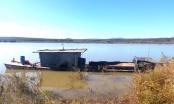 Chủ tàu hút cát trái phép trên sông Đăk Bla bị phạt 150 triệu đồng