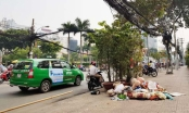 """TP Hồ Chí Minh: Nhức nhối vấn nạn lấn chiếm vỉa hè, rác thải """"bủa vây"""" trước trụ sở Đội trật tự đô thị quận 3"""
