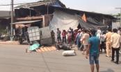 TP HCM: Tông vào xe lam, 1 người tử vong