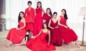 Dàn người đẹp Hoa hậu Hoàn vũ Việt Nam đọ nhan sắc qua những chiếc đầm đỏ của NTK Đỗ Mạnh Cường