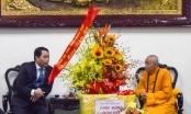 Công an tỉnh thăm và chúc tết Ban trị sự Giáo hội Phật giáo Việt Nam tỉnh TT Huế