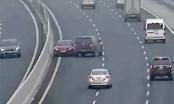 Nữ tài xế ôtô đi ngược chiều, nháy đèn pha trên cao tốc Hà Nội - Hải Phòng