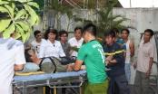 Đà Nẵng: Sập giá đỡ bồn nước khi làm việc, một người bị thương nặng