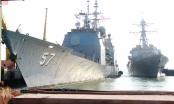 Đoàn tàu Hải quân Hoa Kỳ lần đầu tiên có chuyến thăm chính thức Việt Nam