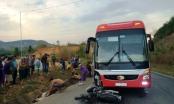 Kon Tum: Hai vợ chồng tử vong sau khi va chạm với xe khách