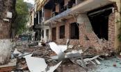 Nghệ An: Áp lực từ vụ nổ kinh hoàng khiến cửa kính nhà bên kia đường cũng vỡ vụn