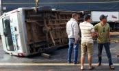 Lâm Đồng: Xe khách đâm vào lan can bên đường, 3 người bị thương