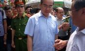 Vụ cháy Chung cư Carina Plaza: Bí thư Thành ủy Nguyễn Thiện Nhân yêu cầu tăng cường diễn tập, tuyên truyền hướng dẫn người dân thoát nạn