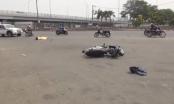 TP HCM: Va chạm giữa xe tải và xe máy, 1 người tử vong