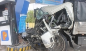 Khánh Hòa: Hai xe cùng chiều va chạm, nhiều người bị thương