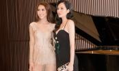 Hoa hậu Diệu Linh tái xuất sexy bên Tường Linh gợi cảm