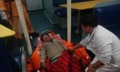 Cứu nạn thuyền viên tàu cá lâm bệnh khi đi biển đánh cá