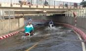 TP HCM: Hầm chui vừa thông xe đã ngập nước nghiêm trọng
