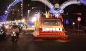 Đường phố Đà Nẵng rực sáng trong đêm Lễ diễu hành Carnaval đường phố 2018
