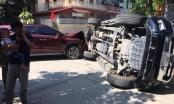 Nghệ An: Vua bán tải Ford Ranger bị Hyundai Tucson hạ gục giữa ngã tư