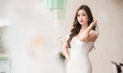 Đỗ Mỹ Linh đẹp xuất thần trong váy dạ hội tông trắng, lên nhận giải 'Nghệ sĩ Nhân ái'