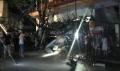 Xe trộn bê tông húc đổ trạm biến áp, 2 người tử vong