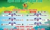 Vòng 3 giải Hạng Nhất Nghệ League 2018: Cơ hội nào cho các đội sửa sai ?