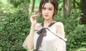 Ca sĩ Trương Quỳnh Anh khoe vẻ đẹp tinh khôi, cuốn hút với những thiết kế chấm bi