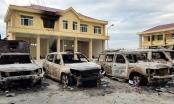Bình Thuận: Bắt giam 4 người đốt xe cảnh sát