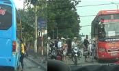 Nhà xe Phiệt Học, Tôn Thắng dừng đỗ, chèo kéo bắt khách đại náo trên nhiều tuyến phố Thủ đô