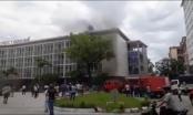 Trường Đại học Y dược Huế xảy ra sự cố cháy, khói bay mịt mù