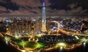 Slide - địa ốc: Tòa nhà cao nhất Việt Nam lung linh về đêm giữa Sài Gòn