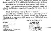 Phó Giám đốc Trung tâm Y tế huyện Mỹ Hào bị tạm đình chỉ chức vụ để điều tra