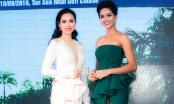 Hoa hậu H'Hen Niê và Á hậu Mâu Thủy đấu giá từ thiện Hoa hậu Hoàn vũ Việt Nam