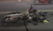 Bình Dương: Ba xe máy tông liên hoàn 2 người bị thương nặng