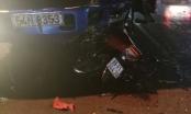 Bình Dương: Chạy xe máy trong cơn mưa tầm tã, một người lao vào xe tải tử vong