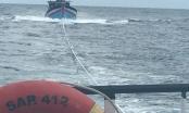 Cứu nạn 8 thuyền viên tàu cá gặp nạn khi cách bờ 130 hải lý