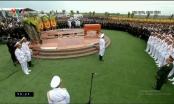 Trực tiếp Lễ an táng Chủ tịch nước Trần Đại Quang tại quê nhà Ninh Bình