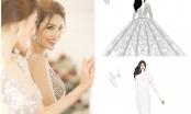 Lan Khuê sẽ chọn thiết kế thương hiệu David Wong làm váy cưới