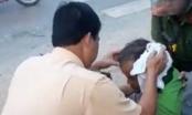 CSGT Thanh Hóa cởi áo cầm máu cứu nạn nhân