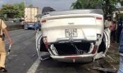 Bị tai nạn lật xe ô tô tại Huế, vợ một Phó Giám đốc Sở tại Đà Nẵng tử vong