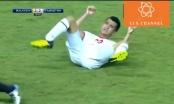 Pha vào bóng kinh hoàng khiến cầu thủ gãy chân trong giải U19 Châu Á