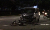 Bình Dương: Tông vào đầu xe ô tô, nam thanh niên tử vong tại chỗ
