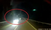 Clip hoảng hồn với pha đi ngược chiều của xe tải trên đường cao tốc Hà Nội - Lào Cai
