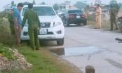 Nam Định: Thượng uý công an tử vong trong chiếc ôtô trên bờ đê