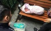 Tá hoả phát hiện bé sơ sinh còn nguyên dây rốn bỏ cạnh cổng truờng