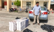 An Giang: Bắt quả tang đối tượng vận chuyển 3.000 bao thuốc lá ngoại nhập lậu