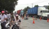 Bình Dương: Ngã ra đường, người phụ nữ bị xe container cán tử vong