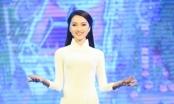 'Bạn gái tin đồn' của Phan Văn Đức diễn áo dài cho HH Ngọc Hân