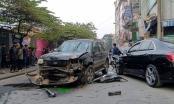 [Clip]: Xe điên gây tai nạn liên hoàn, 1 cụ bà bán hàng rong thiệt mạng