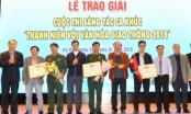 Trao giải Cuộc thi sáng tác ca khúc với chủ đề 'Thanh niên với văn hóa giao thông'.