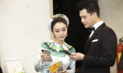 Jennifer Phạm vui vẻ tạo dáng bên chồng cũ Quang Dũng trong sự kiện